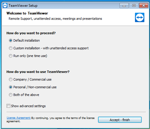 come avviare Teamviewer all'apertura di Windows
